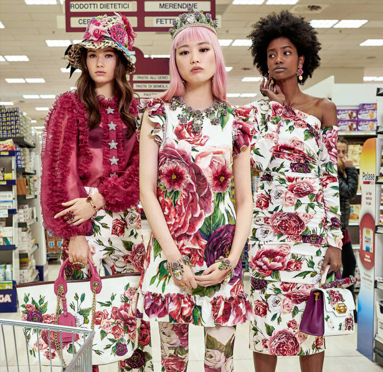 Vika I -Dolce Gabbana lookbook