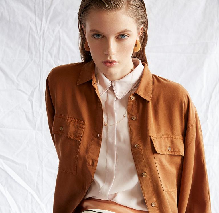 Darina K for Elle Ukraine